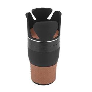 Aramox Porte-gobelet de rangement multifonction 5 en 1 avec support rotatif pour téléphone portable