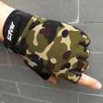 conqueror Hommes Antidérapant Vélo Vélo Gym Fitness Sports Finger Gants