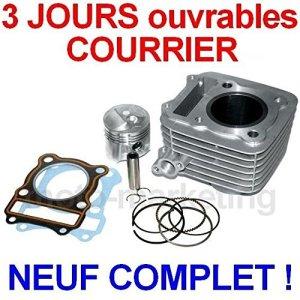 Générique 125 CC Cylindre Haut Moteur Piston Complet KIT pour Suzuki DR125 DR 85-06 4TEMPS
