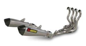 Akrapovic Ligne Evolution en Titane pour Suzuki GSX-R 1000 (2009 -> 2011)