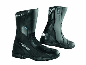 Bottes Cuir Impermeable Moto Motard Thermique Touring Scooter Sports noir 42