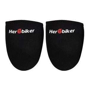 MagiDeal Protection de Chaussure de Moto Garde Équipement – 15cm * 14cm * 2cm, Noir