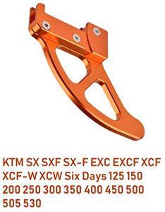 MotoCircuitPartes Protection de Disque de Frein arrière pour Moto SX SXF SX-F EXC EXCF XCF XCW 125 150 200 250 300 350 400 450 500 505 530