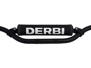 Mousse de Guidon Derbi (Logo Blanc)