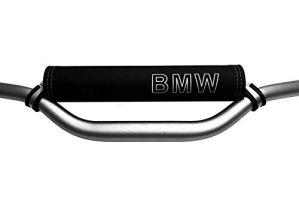 Mousse de Guidon pour des modèles BMW (Logo Argent)