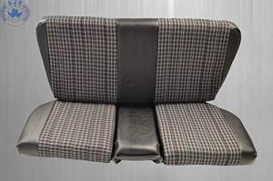 Notsitze Banquette arrière en tissu noir à carreaux pour MB SL R/W107 SL 107, pour enfant