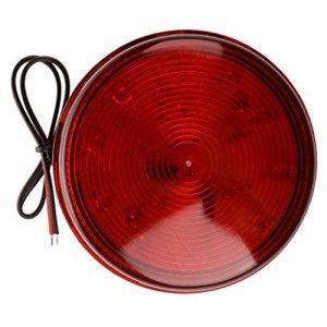 SODIAL(R) Alarme lumiere rouge LED Avertissement Strobe lumiere DC12V pour la securite emetteur de signal NOUVEAU pour le systeme de securite et domotique