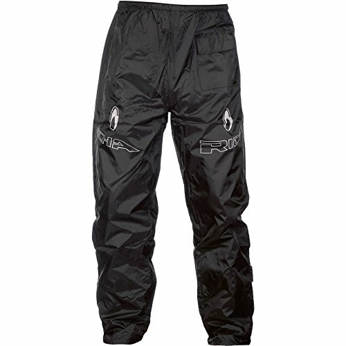7RW100/5XL – Richa Rain Warrior Motorcycle Over Trousers 5XL Black (42)