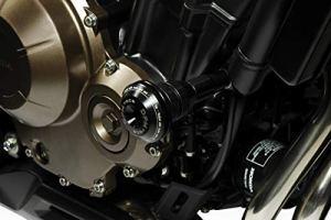 CB500F 2019 – Cadre Coulisses 'Warrior' (R-0857) – Aluminium Protection Anti-chute Crash Barre Coque – Visserie Incluses – Accessoires De Pretto Moto (DPM Race) – 100% Made in Italy