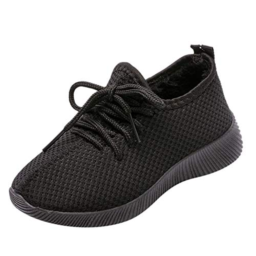 3-11 Ans Enfants Filles GarçOns Course à Pied Sport Sneakers Chaussures, Bottines en Mesh Respirant pour GarçOn