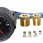 Bosch SP0F000001 Sport ST 2″ Electrical Water/Oil/Transmission Temperature Gauge