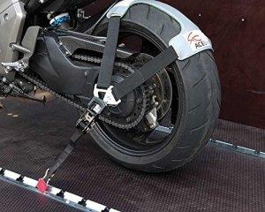 Acebikes Tyrefix Kit de transport sécurisé pour moto