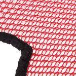 Almencla Casque De Moto Net Cushion Head Gear Doublure D'isolation – Rouge