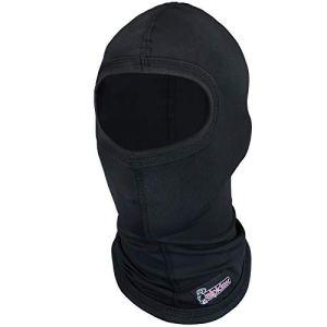 ALPIDEX Cagoule Moto Passe-Montagne Balaclava Homme Femme Enfant Respirant Noir Chaud, s m/l XL XS-m m-XL GRÖßE:M/L, Couleur:Noir