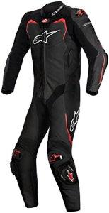 Combinaison Alpinestars GP Pro Tech Air Bag Compatible Cuir Noir/Rouge t50