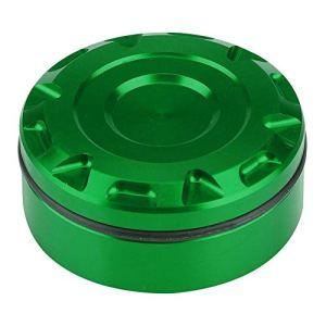 Couvercle d'huile de frein arrière, couvercle de bouchon de réservoir de liquide de frein arrière de moto pour Z1000sx MT-07 MT-09(vert)