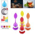 EdBerk74 coloré silicone feuille sachet filtre filtre créatif en acier inoxydable filtre à épices Diffuseur Marque