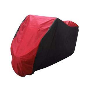 Étrier de Frein de Bicyclette XL 2XL 3XLMotorcycle Cover for BMW R1150GS Adventure R1200GS R1200RT / Honda Shadow Spirit Aero Accessoires de Moto (Color : Black+Red, Size : XL)