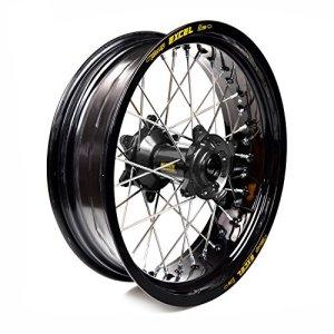 Haan Wheels-61445 : roue complète Haan Wheels Bague Noir 17-5,50 moyeu 86010 Noir 1/3/3