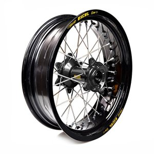 Haan Wheels-61847 : roue complète Haan Wheels Bague Noir 17-5,50 moyeu 36510 Noir 1/3/3