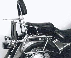 Hepco&Becker Sissybar sans Pont de Bagage – Chrome pour Kawasaki VN 800 Classic à partir de 2000