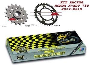 Kit transmission Racing chaîne reine 520 couronne 39 pignon 16 h onde X-ADV 750