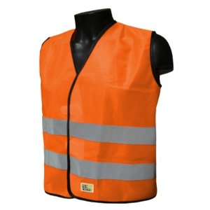 L2S VisioKid Gilet de sécurité Orange 2XS