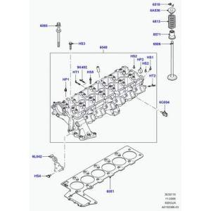 Land Rover – bouchon de vidange d'huile Freelander 1 et Range L322