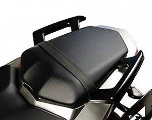 MotorbikeComponents, poignées arrière pour passager noir–Yamaha FZ1FZ22014