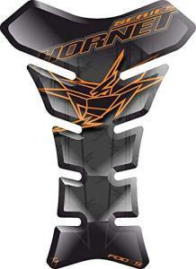 PARASERBATOIO ADESIVO, TANKPAD, TANKSCHUTZ, PROTECTION DE RESEVOIR, RESINATO EFFETTO 3D compatibile con Hond.a Hornet Cb 600f Cb600f 600s Cb600s Cb900 Cb900f 900s 900f 900 v1