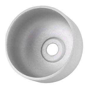 Pour Xiaomi Scooter électrique M365 Accessoires Bell Cap Ny85092 Accessoires de scooter électrique Pièces de rechange – Argent blanc