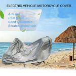 Protection complète Moto Couvre Anti UV étanche à la poussière étanche à la Pluie Couvrant Moto Respirant Capot extérieur Tente intérieure