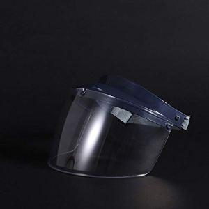 ROMORDS Masque de protection anti-buée – Masque intégral transparent – Anti-bouche – Anti-éclaboussures – Artefakt – Protection complète contre la pluie