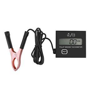 SALAMOPH tachymètre tachymètre numérique de la vitesse dimpulsions inductif tachymètre de moteur à essence à haute tachymètre