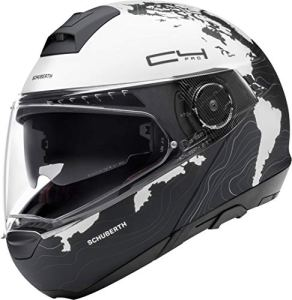 SCHUBERTH C4 PRO WOMEN MAGNITUDO CASQUE MODULABLE BLANC M