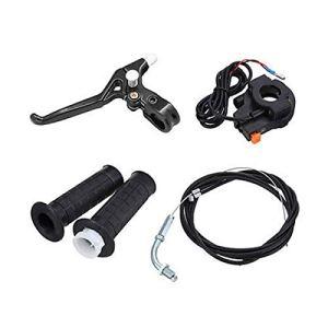 Accessoires motos Pièces 80cc 2 roues à faible bruit en acier moto Silencieux vélo électrique Kit moteur, Pièces auto