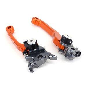 Barre d'acier Pivot levier de frein d'embrayage pour KTM EXC SXF XCW SXR excr XCF XC SX xcrw Orange