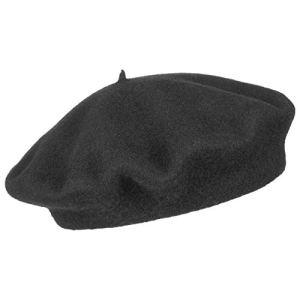 Beret Basque berets basques berets (59 cm – noir)
