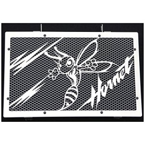 cache radiateur / grille de radiateur CB 600 F Hornet «Frelon V2» 07>14 + grillage alu