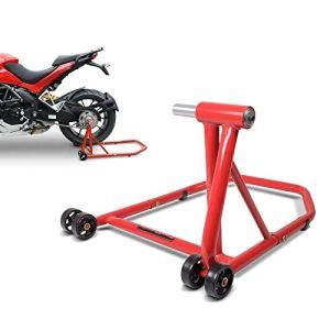 ConStands Single Béquille d'atelier Honda CB 1000 R 08-16 rouge, Monobras adaptateur inclus