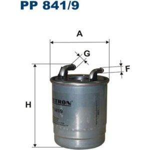 Filtron Filtre à carburant, pp841/9