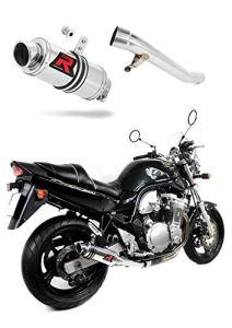 GSF 600 Bandit Pot d'échappement GP I Silencieux Dominator Exhaust Racing Slip-on 1995 1996 1997 1998 1999