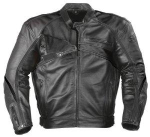 Joe Rocket Superego Men's Hybrid Leather/Mesh Motorcycle Jacket (Black, X-Large) by Joe Rocket