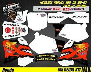 Kit Déco Moto/MX Decal Kit Honda McGrath Replica 125 CR 95-97 250 CR 95-96