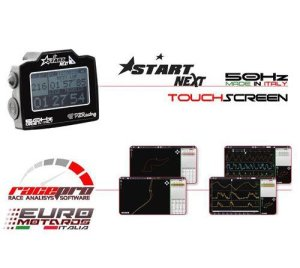 pzracing Start Basic 50Hz 3SE Lap Minuteur Triumph Daytona Street Triple 675