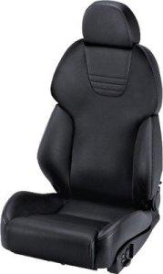 Recaro AM19style Topline cuir noir copiloto