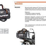 Sac de selle imperméable WA404S Kappa new 2014