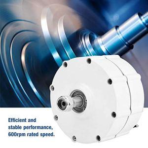 AC Alternateur,Générateur Triphasé à Aimant Permanent,600 tr/min, 50Hz, -40 ℃~80 Température de Fonctionnement,Puissance Nominale en Option(500W24V/48V)