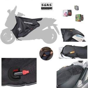 Compatible avec Honda PCX 125 2018-2019 Housse de Protection pour Pieds Tucano Urbano R202-X Termoscud SPEZIFISCHE pour Scooter, intérieur en Fourrure écologique en Nylon