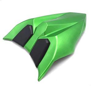 for Kawasaki Z NINJA650 Z650 Ninja 650 2017 2018 2019 Haute qualité Housse de siège arrière arrière Section arrière Siège Cowl Couverture Noir Vert (Color : C)